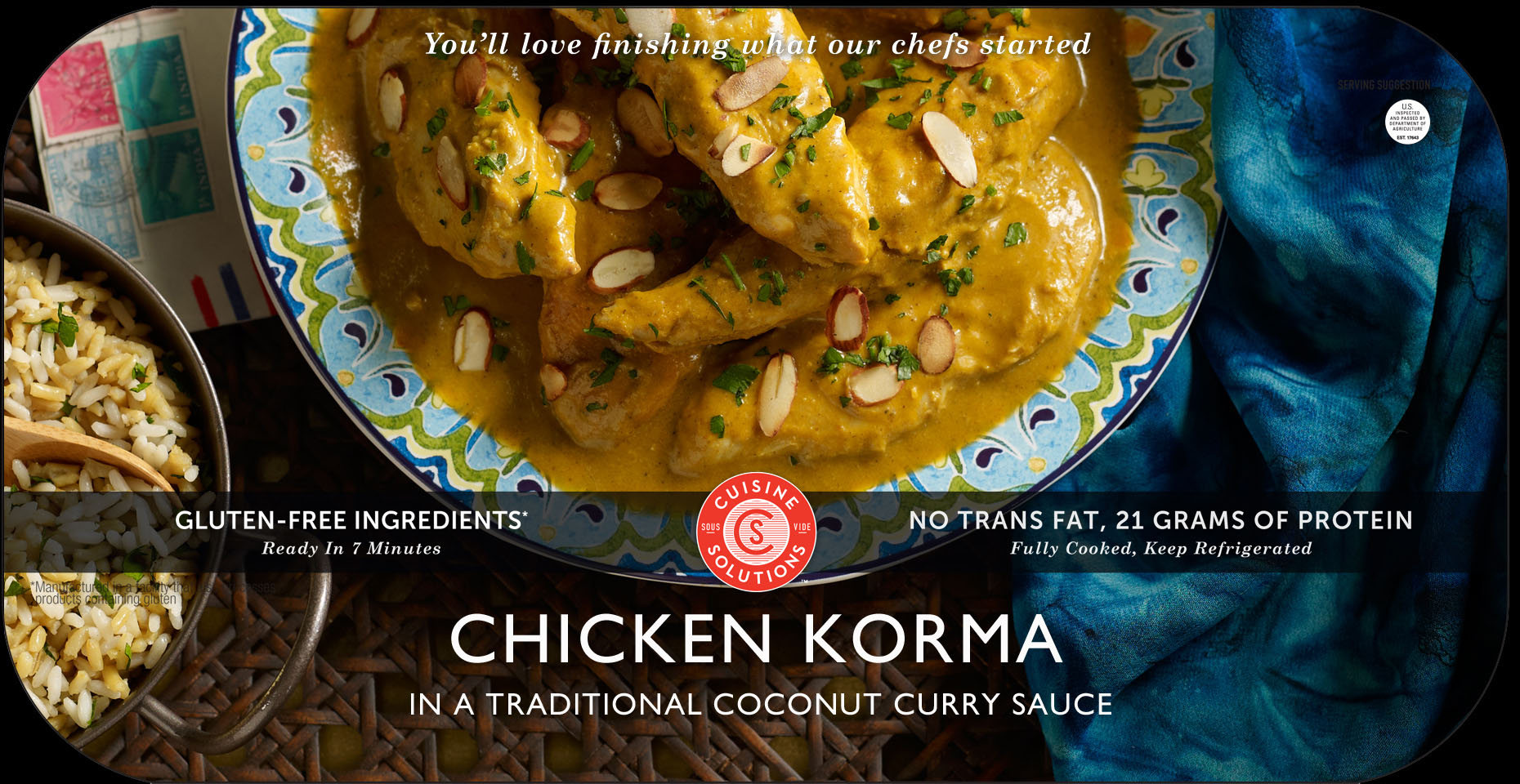 Food Photography_Food Packaging Photography_Korma Chicken