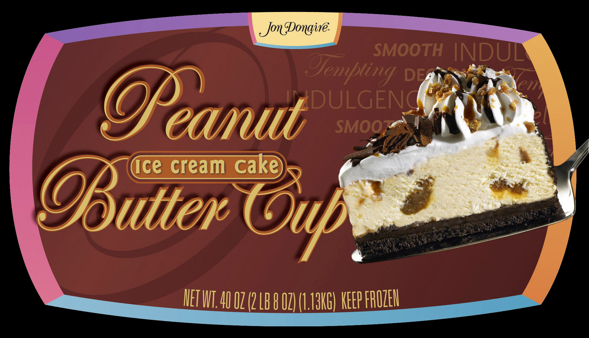 Jon Donaire_Richs_Food Packaging Photography_Food Photography_Ice Cream Cake