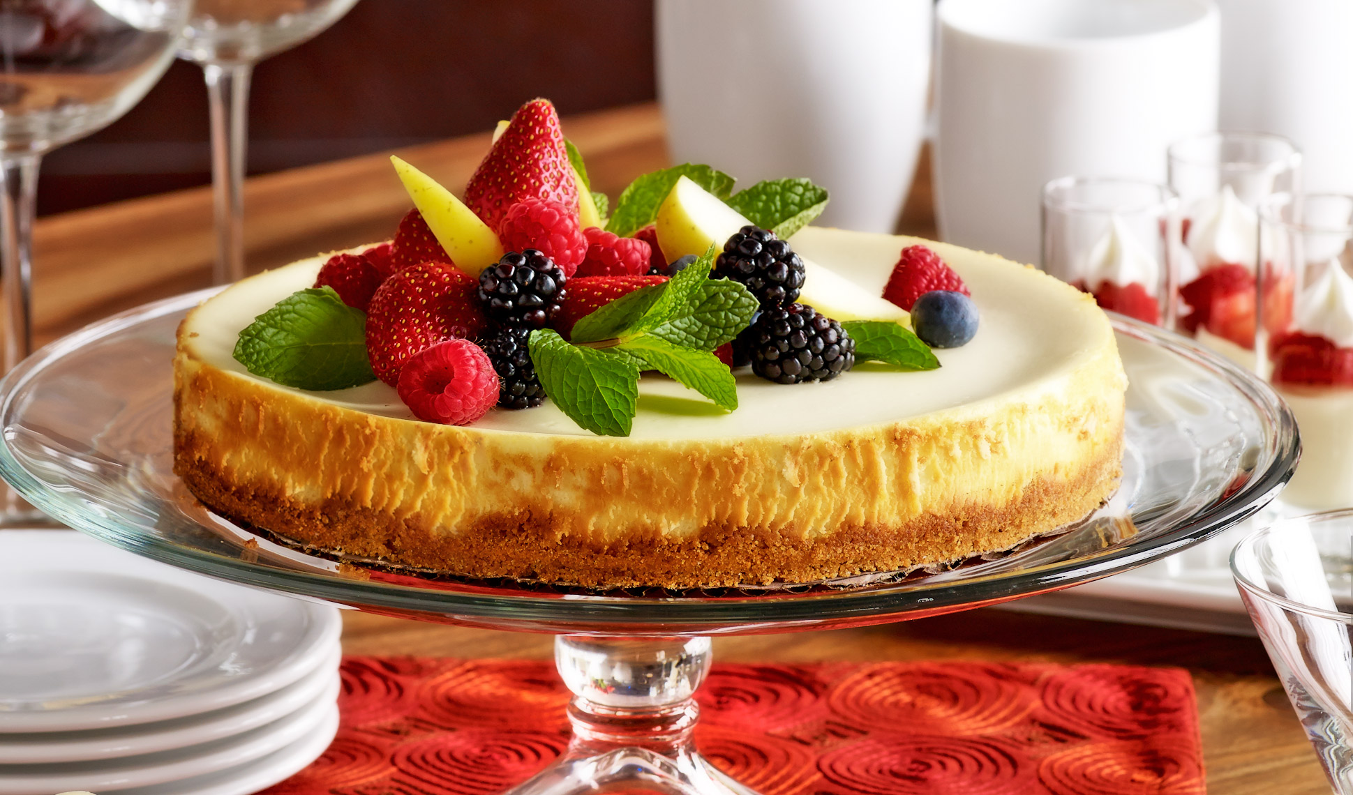 Libbey_Cheesecake_Food_Fruit
