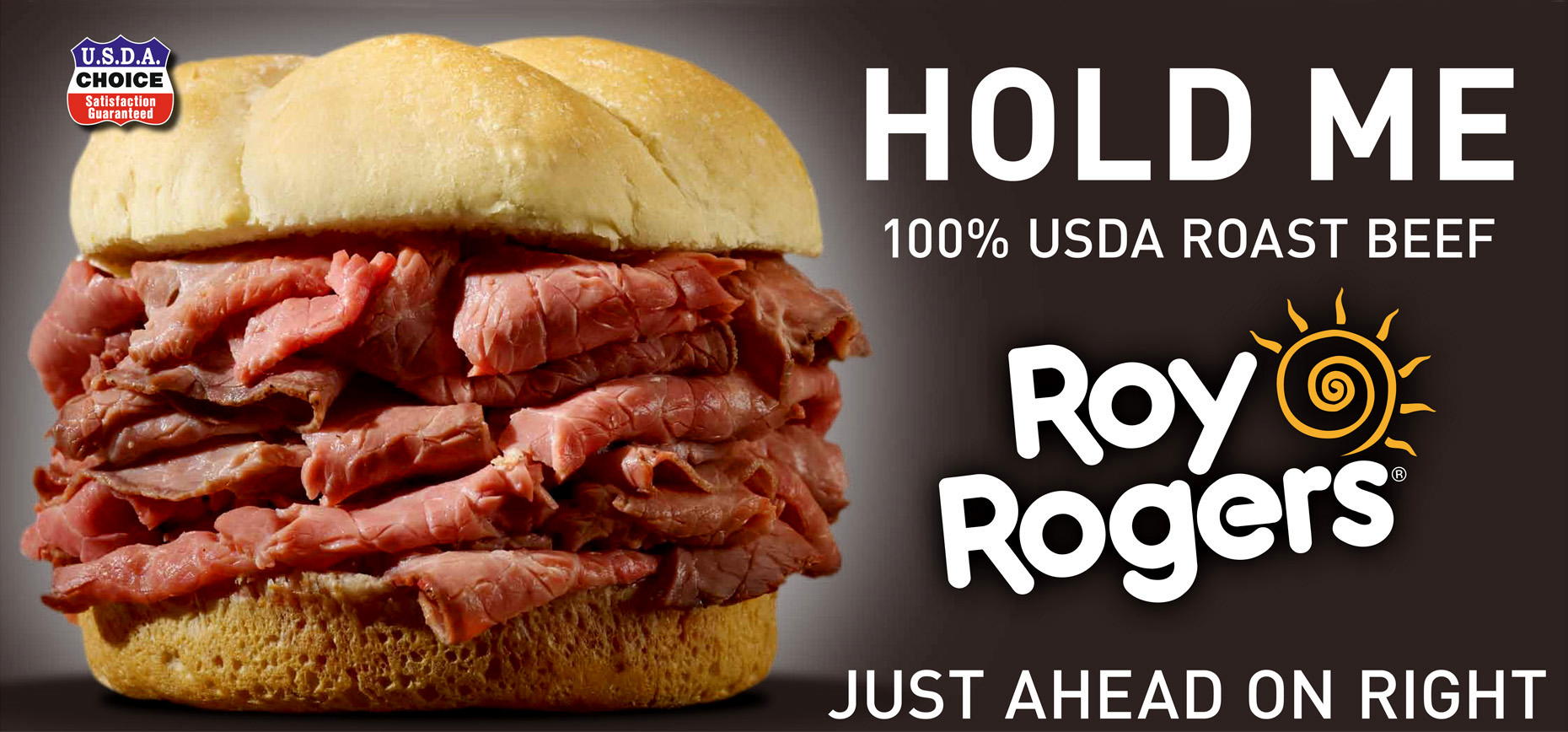 Food Photography, Billboard_Outdoor Advertising_Roast Beef Sandwich