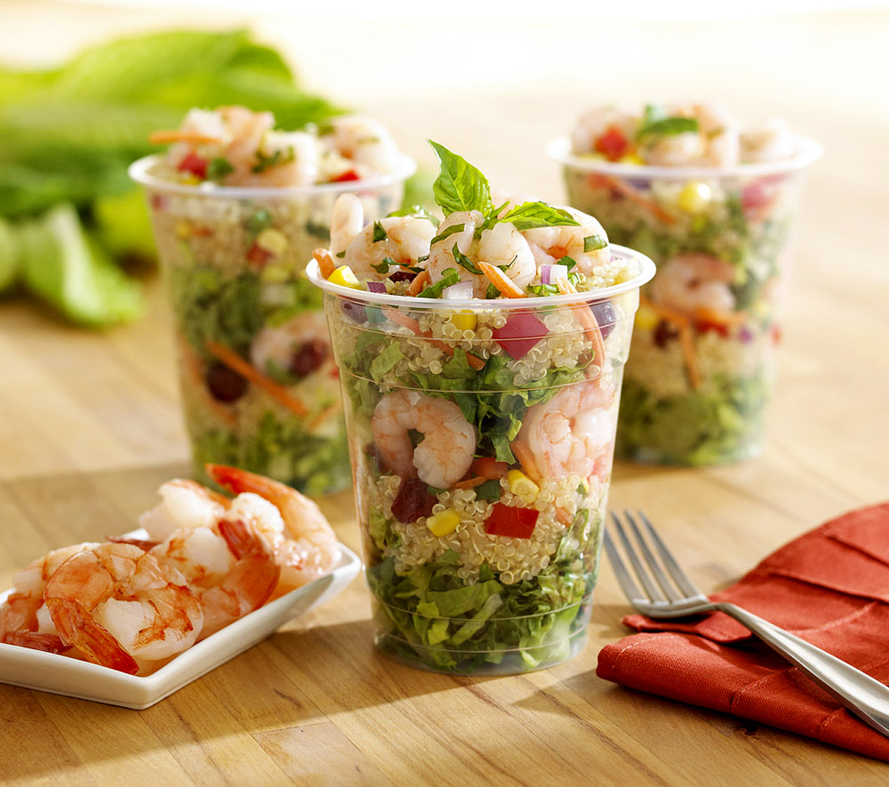 Food Photography_Point of Sale_salad cup_shrimp salad