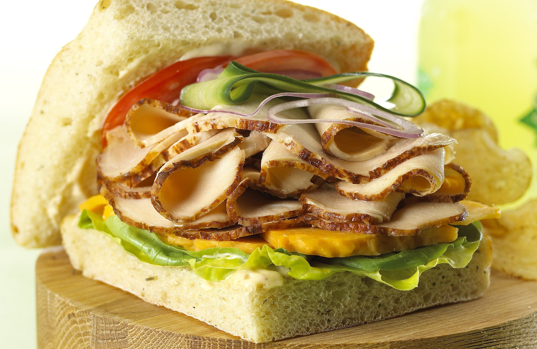 Food Photography_Sandwich_Turkey_Ciabatta